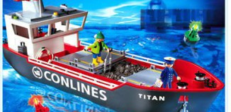 Playmobil - 4472 - Cargo Ship