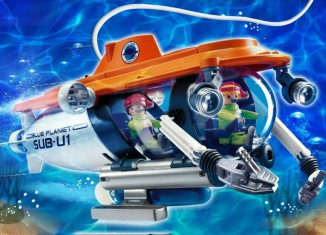 Playmobil - 4473 - Research Submarine