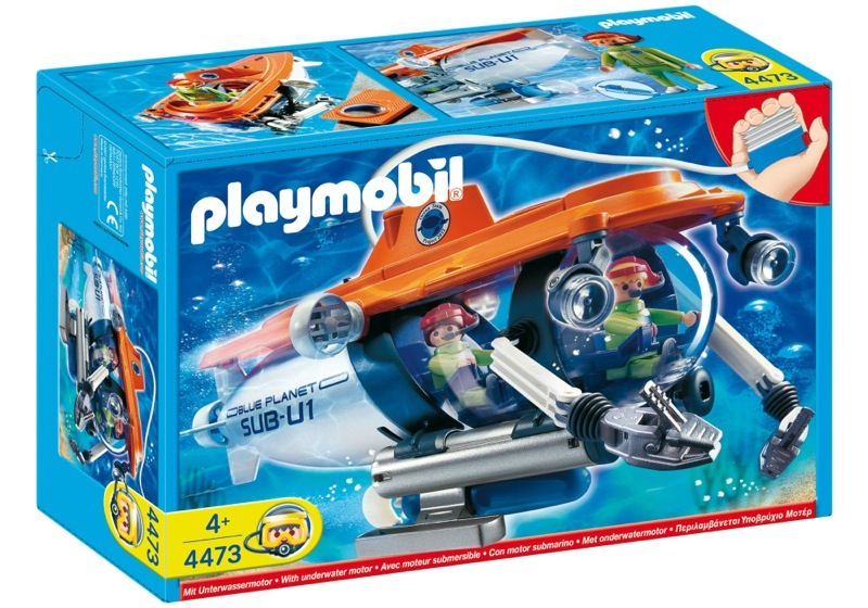 Playmobil 4473 - Forschungs-U-Boot - Box