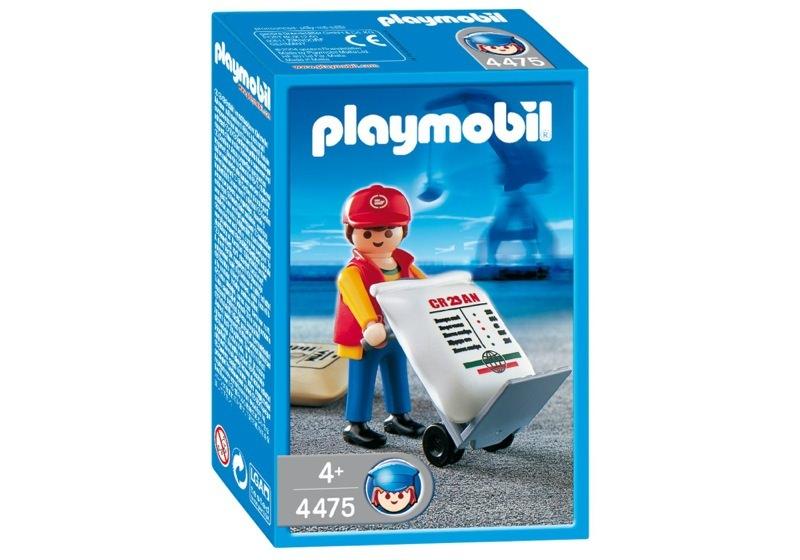 Playmobil 4475 - Dock Worker - Box