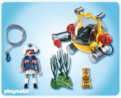Playmobil 4478 - Diving Bell - Back