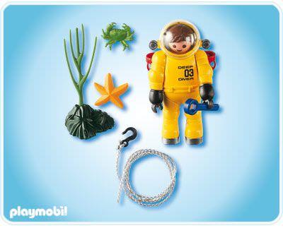 Playmobil 4479 - Deep Sea Diver - Back