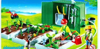 Playmobil - 4482 - Plant Beds with Shed