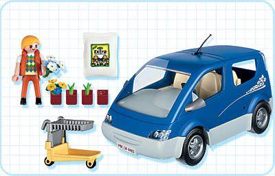 Playmobil 4483 - City Van - Back