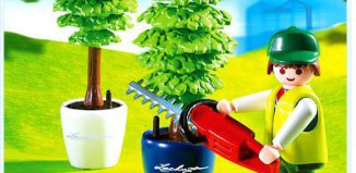 Playmobil - 4485 - Gardener with Hedge Trimmer