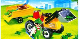 Playmobil - 4486 - Gardener with Tractor