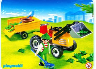 Playmobil - 4486 - Gardener with Tractor