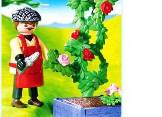 Playmobil - 4487 - Rose Gardener