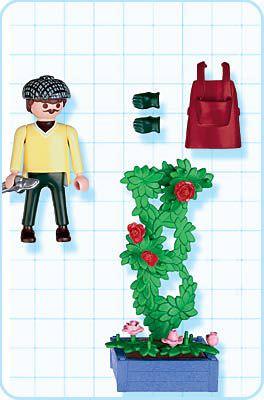 Playmobil 4487 - Rose Gardener - Back
