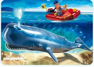 Playmobil - 4489 - Research Boat with Sperm Whale