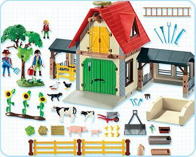 playmobil set 4490 animal farm klickypedia. Black Bedroom Furniture Sets. Home Design Ideas