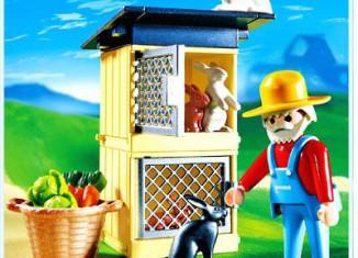 Playmobil - 4491 - Rabbit Pen