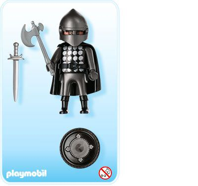 Playmobil 4517 - Dark Knight - Back