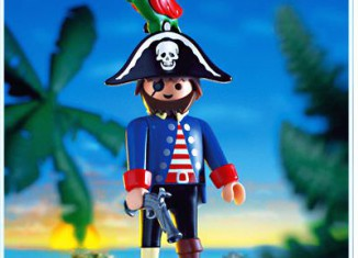 Playmobil - 4548v1-usa - Captain peg-leg