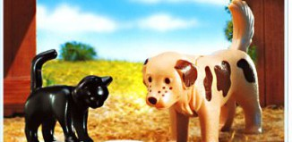 Playmobil - 4563 - Dog/Cat/Mouse