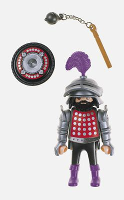 Playmobil 4567 - Sir Polkadot - Back
