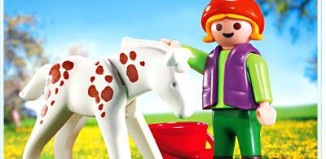 Playmobil - 4571 - Child & Foal