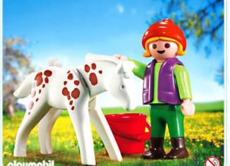 Playmobil - 4571 - Niña con potro