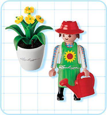 NEW Retired item Playmobil 4613 Male Gardener