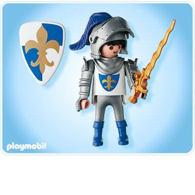 Playmobil 4616 - Blue Knight - Back