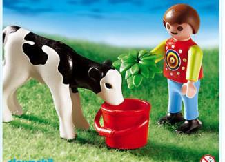 Playmobil - 4624 - Boy with calf