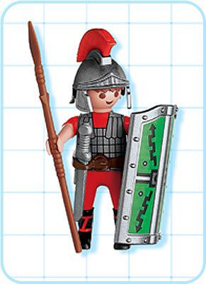 Playmobil 4632 - Roman Soldier - Back