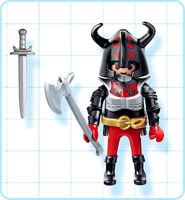 Playmobil 4633 - Dragon Warrior - Back