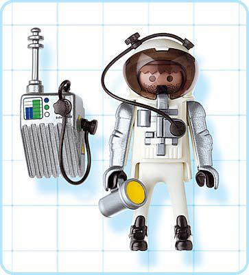 Playmobil 4634 - Astronaut - Back