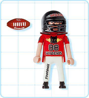 Playmobil 4635 - Football Player - Back