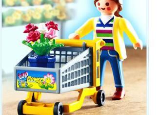 Playmobil - 4638 - Garden Shopper remastering