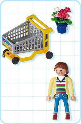 Playmobil 4638 - Garden Shopper remastering - Back