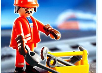 Playmobil - 4640 - Train Worker