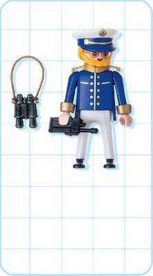 Playmobil 4642 - Cruise Ship Captain - Back