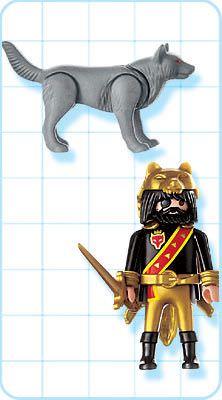 Playmobil 4644 - Dragon Warrior - Back