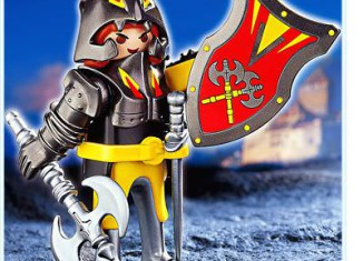 Playmobil - 4646 - Black Knight