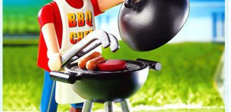 Playmobil - 4649 - Dad with Barbeque