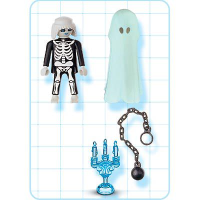 Playmobil 4650 - Scary Ghost - Back