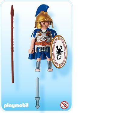 Playmobil 4659 - Roman Fighter - Back