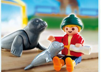 Playmobil - 4660 - Child with Seals