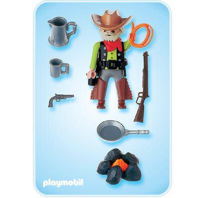 Playmobil 4665 - Western Cowboy - Back