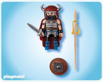 Playmobil 4677 - Barbarian Chief - Back