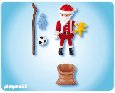 Playmobil 4679 - Father Christmas - Back