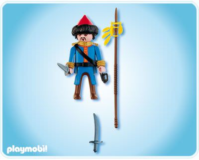 Playmobil 4683 - Cossack Soldier - Back