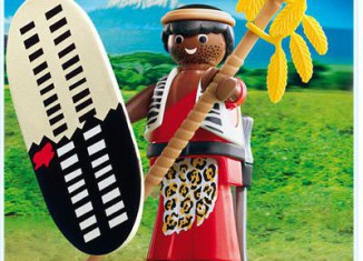 Playmobil - 4685 - Zulu Warrior