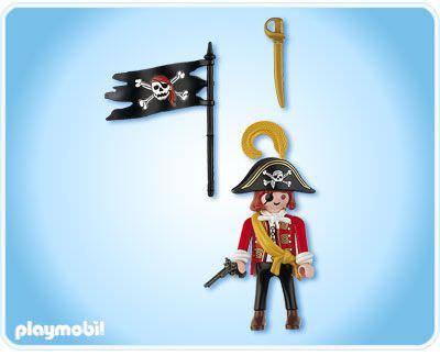 Playmobil 4690 - skull pirate - Back