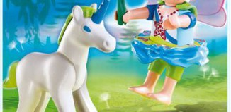 Playmobil - 4692 - Fairy with Unicorn
