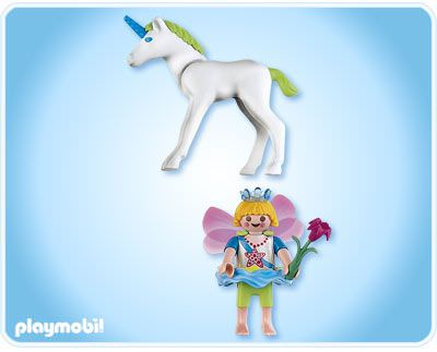Playmobil 4692 - Fairy with Unicorn - Back