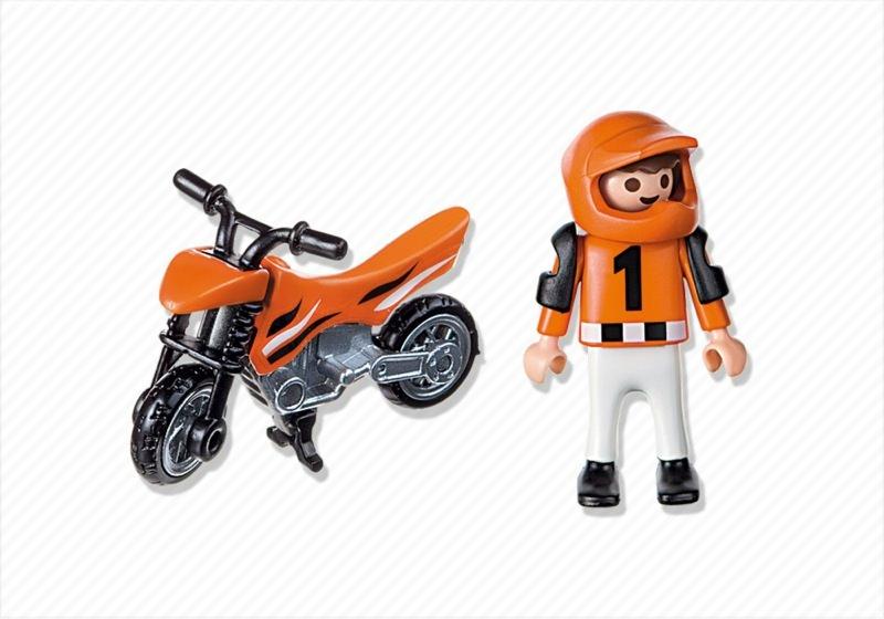 Playmobil set 4698 motocross boy klickypedia - Moto cross playmobil ...