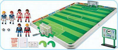 Playmobil 4700 - Soccer Match - Back
