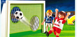 Playmobil - 4701 - Soccer Shoot Out